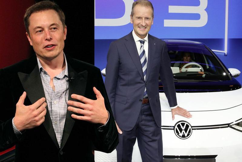 'Elon Musk wilde Volkswagen-topman Diess als Tesla-CEO'