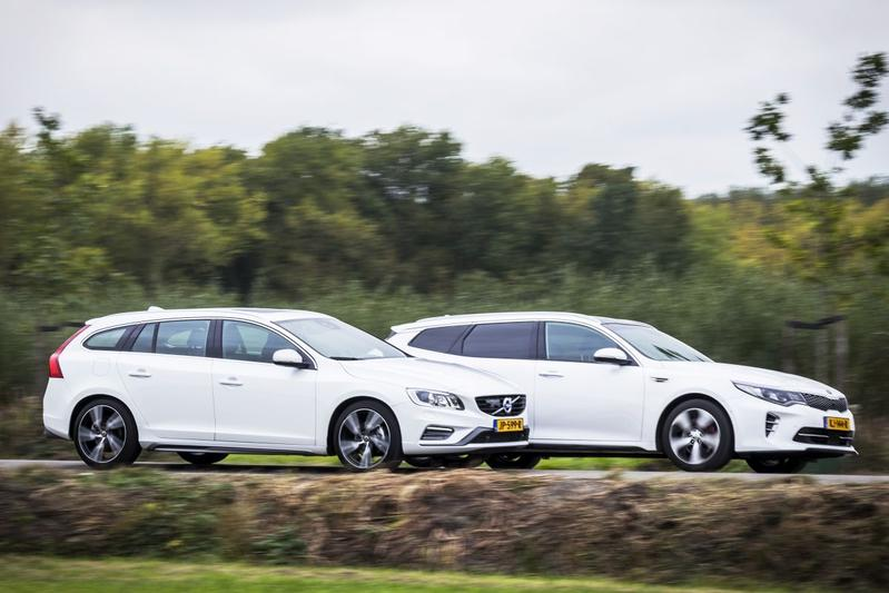 Volvo V60 T4 Nordic vs. Kia Optima GT
