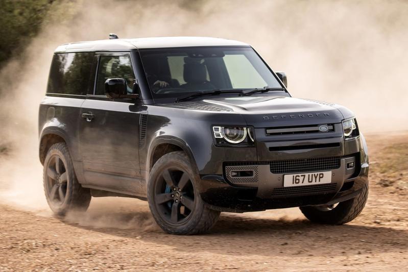 Land Rover Defender V8 - Eerste rijtest