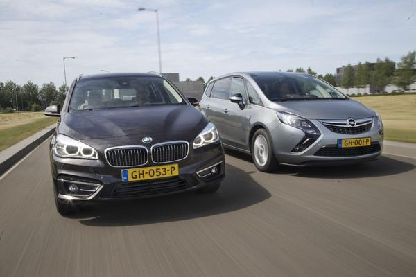 BMW 2-serie Gran Tourer - Opel Zafira Tourer