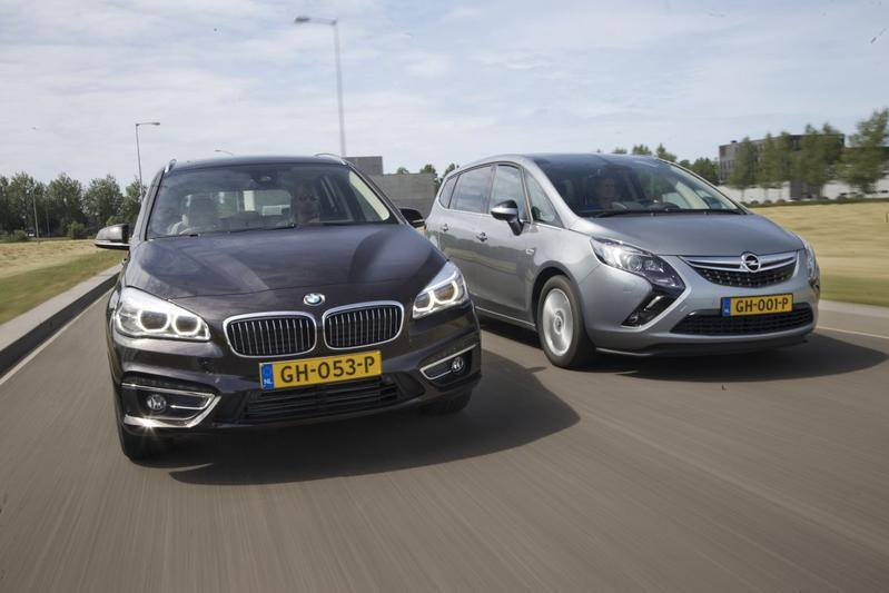 BMW 218d Gran Tourer - Opel Zafira Tourer 1.6 CDTi