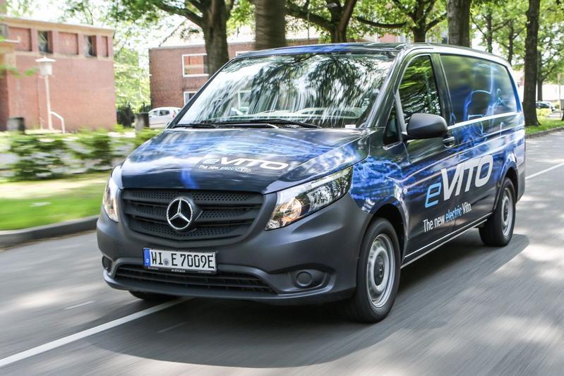 Mercedes eVito - Eerste Rijtest