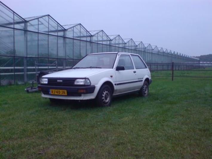 Toyota Starlet 1.3 DX (1987)