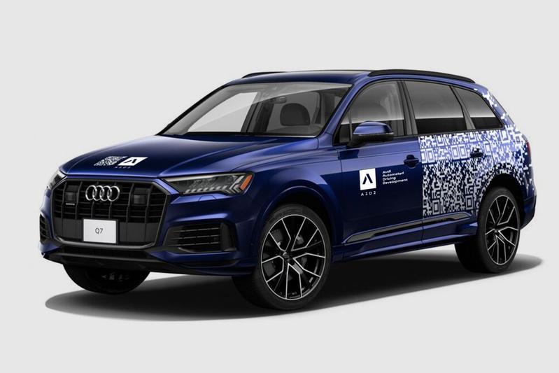 Audi autonoom Q7