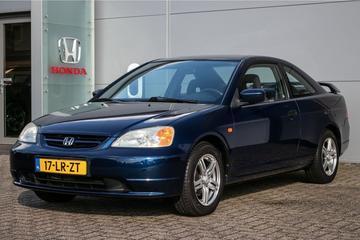 Vijf uiteenlopende gebruikte Honda Civics