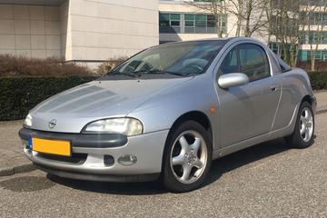 In het Wild: Opel Tigra