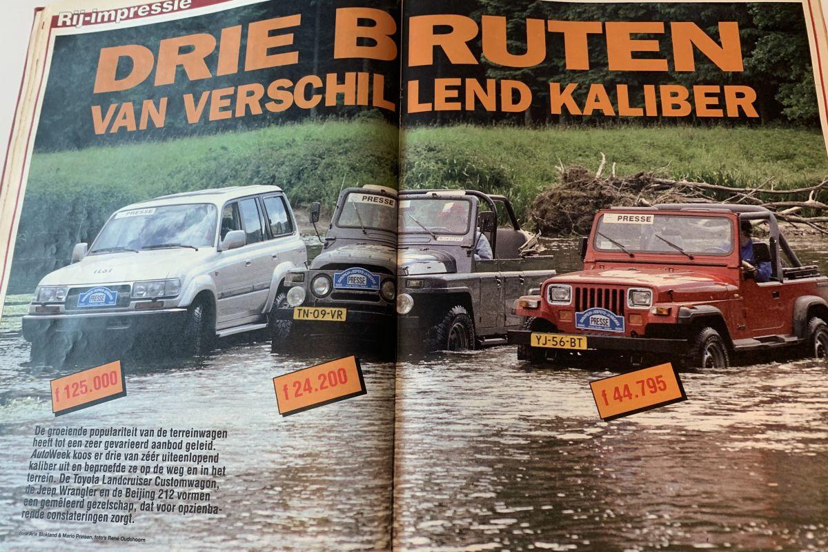 30 jaar AutoWeek 1990 nummer 30