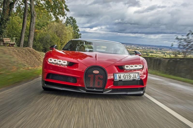 Bugatti Chiron Sport - Posterstory