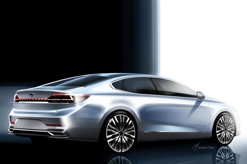 Kia K7 Cadenza facelift