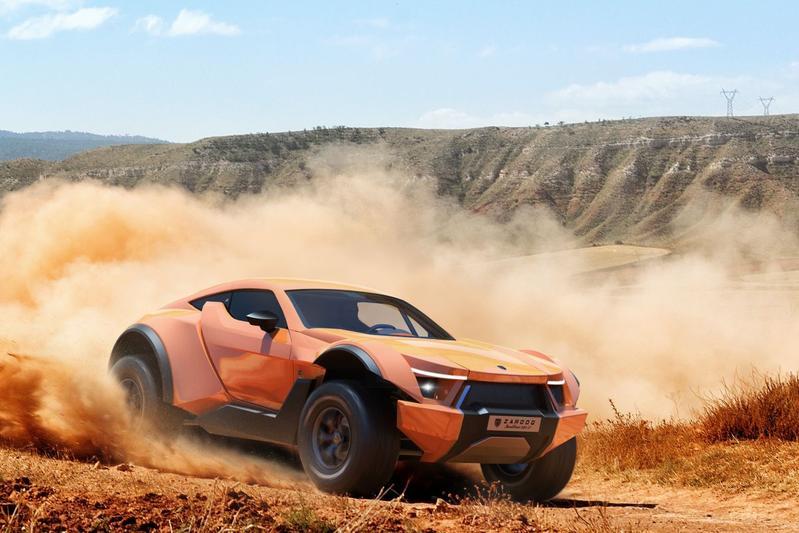 Zarooq Sand Racer 500 GT gepresenteerd