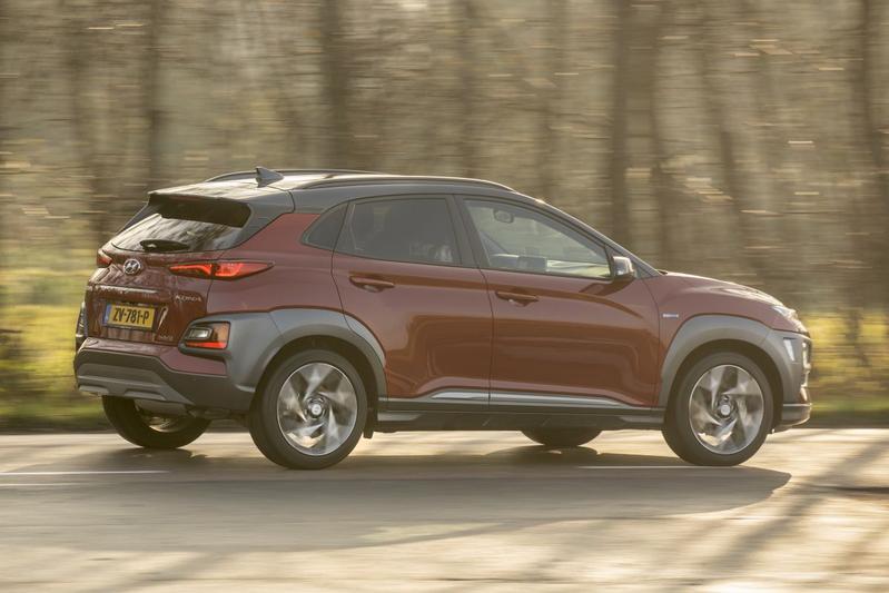 Hyundai Kona Hybrid - Eerst rijtest