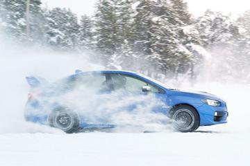 Sneeuwscheppen met Subaru