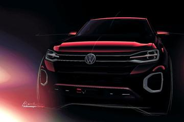 Nóg een grote Volkswagen in New York