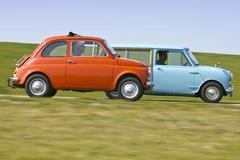 Classics - Fiat 500 en Mini Countryman