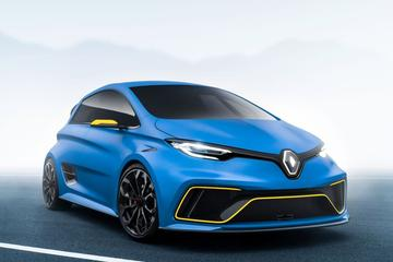 Renault Zoe E-Sport Concept zoemt alles voorbij
