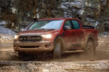 Ford Ranger als ruige Storm