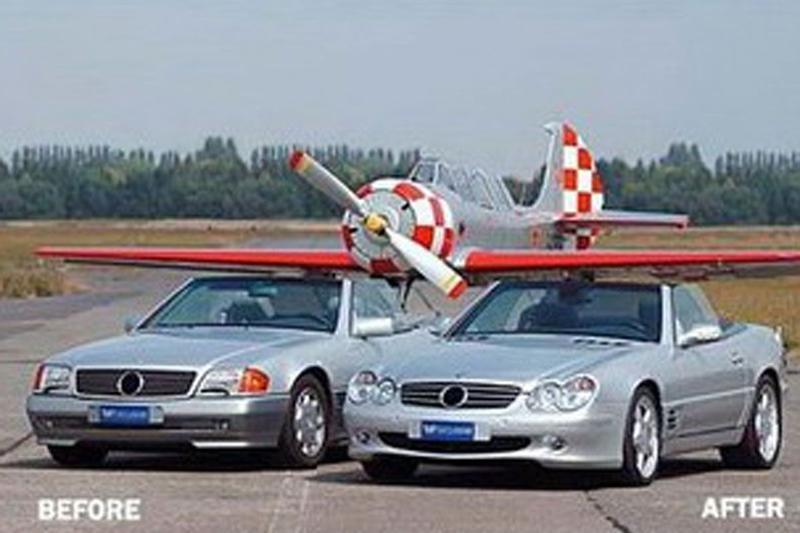 VH tuning Vluchtstrook Mercedes