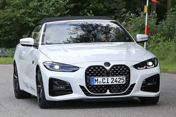 BMW 4-serie Cabrio klaar voor onthulling