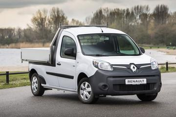 Voor Nederland: Renault Kangoo Z.E. pick-up