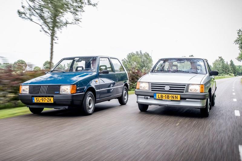 Fiat Uno vs. Opel Corsa - Classics dubbeltest