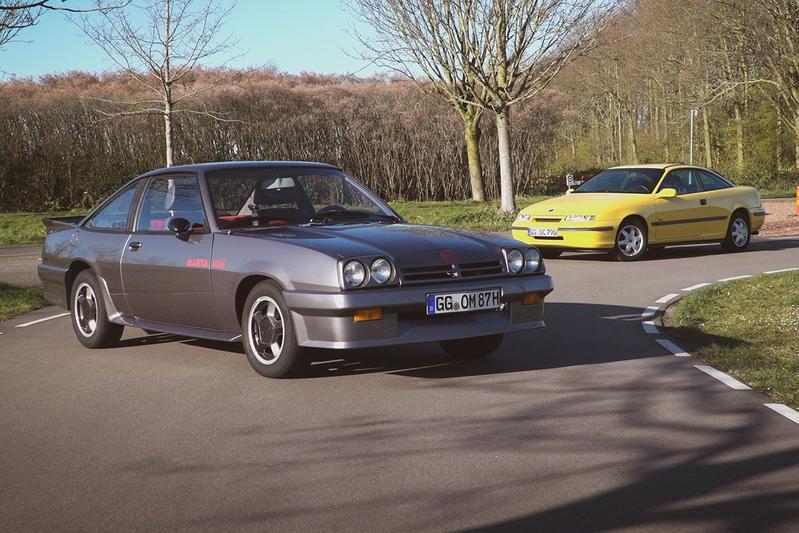 Opel Manta GSi & Opel Calibra 2.0i-16V 4x4 - Special