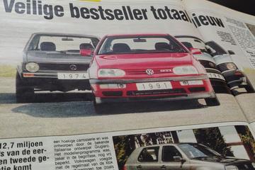 Volkswagen Golf III introductie - Uit de Oude Doos