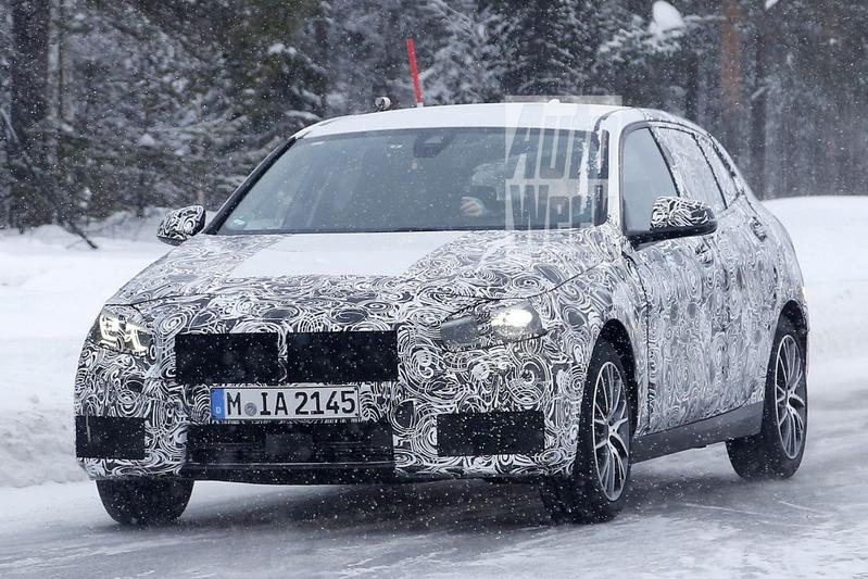 Nieuwe BMW 1-serie toont kijkers