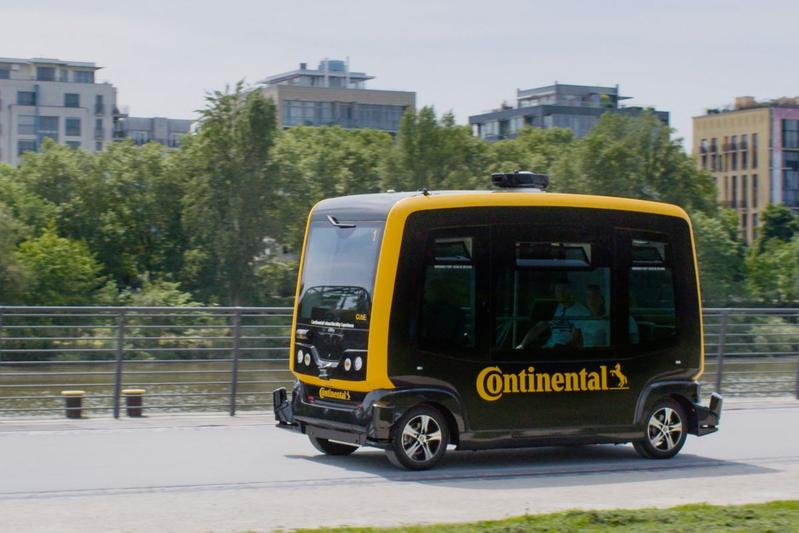 Continental toont CUbE
