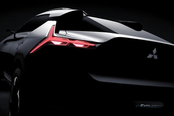 Mitsubishi toont stukje e-Volution Concept