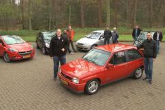 5 generaties Opel Corsa - Duurtestgarage