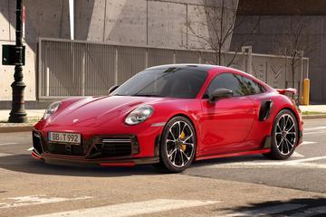 Porsche 911 Turbo behoorlijk extremer dankzij Techart
