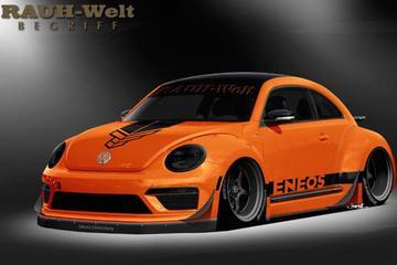 Volkswagen Beetle 'R' naar SEMA Show