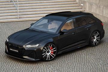 Veyron-cijfers voor Audi RS6 Avant door Wheelsandmore
