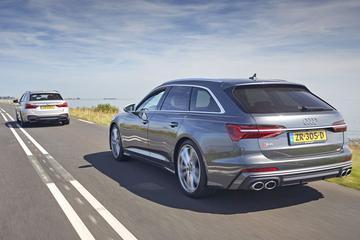 Audi S6 - BMW M550d - Dubbeltest