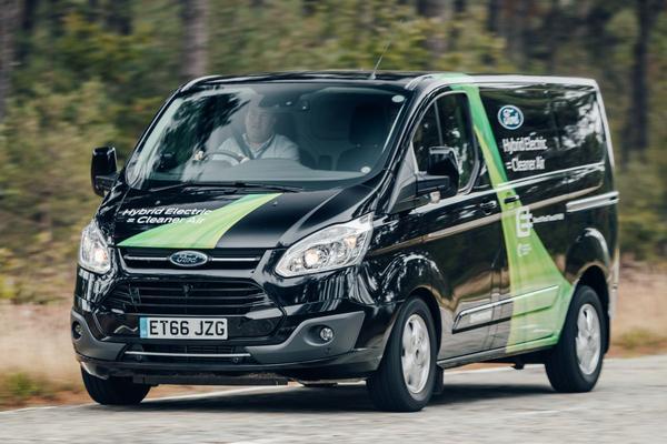 Rij-impressie: Ford Transit Custom PHEV