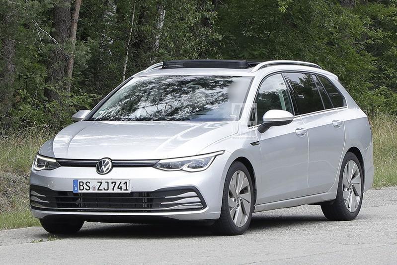 Spyshots Volkswagen Golf Variant en Variant Alltrack