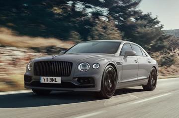 Bentley rust Flying Spur standaard rijker uit