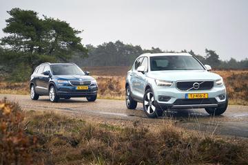 Skoda Karoq vs Volvo XC40 - Dubbeltest