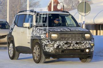 Weer in beeld: gefacelifte Jeep Renegade