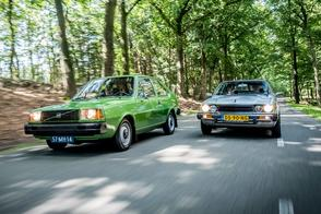 Honda Accord vs. Volvo 343 - Classics Dubbeltest