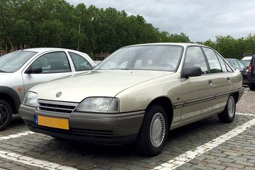 In het wild: Opel Omega A