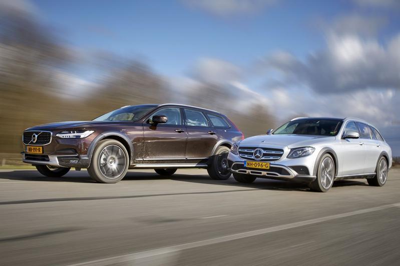Mercedes E-klasse All-Terrain - Volvo 90 CrossCountry