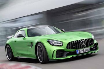 Mercedes-Benz AMG GT vernieuwd