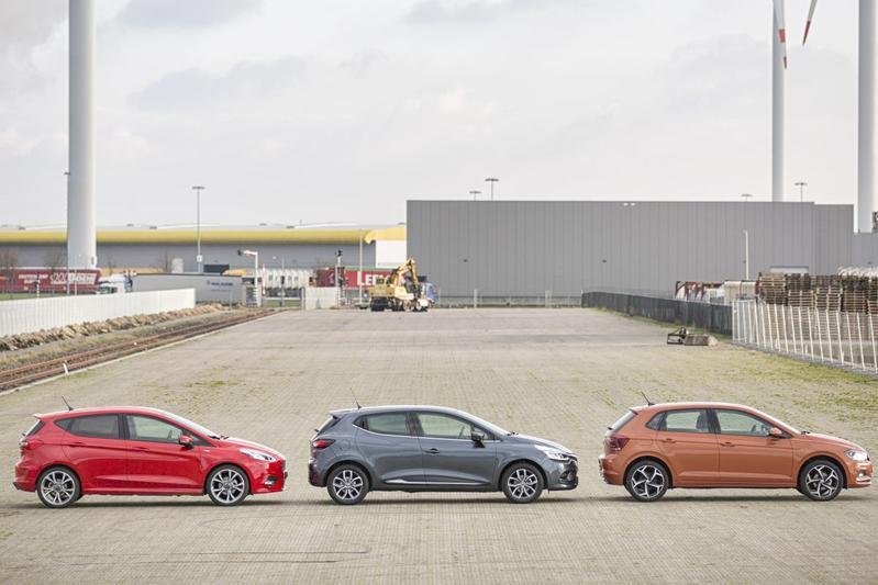 Renault Clio Volkswagen Polo b-segment