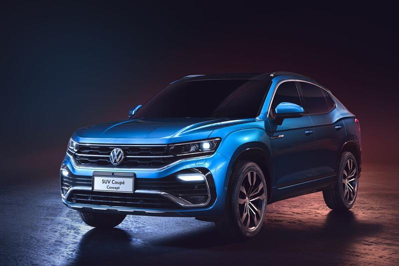 Volkswagen SUV Coupe Concept en SMV Concept