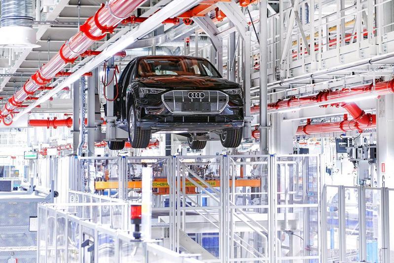 Audi E-Tron fabriek EV Brussel