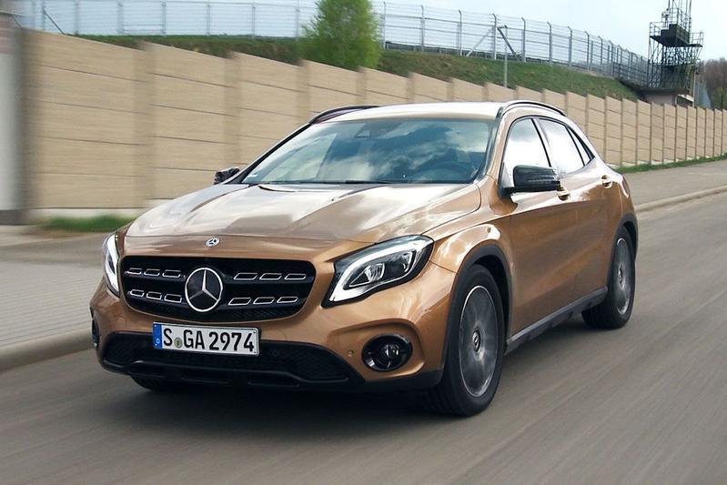 Mercedes-Benz GLA - Rij-impressie