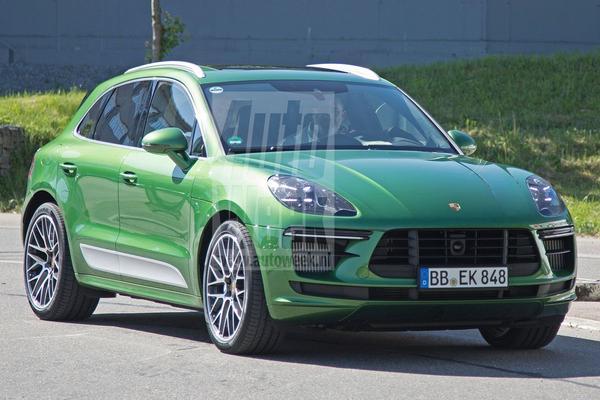Opnieuw in beeld: Porsche Macan facelift