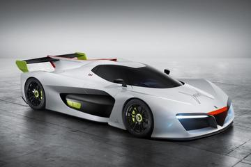Pininfarina H2 Speed Concept is waterstofracer