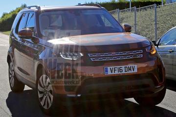 Land Rover Discovery kleedt zich uit